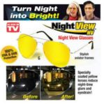 Kacamata Malam Anti Silau/night View Glasses Vision Ass Seen On Tv