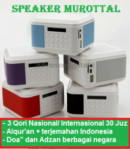 Speaker Murottal Qur'an + Terjemah Indonesia Advance TP600