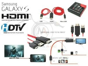 Samsung Kabel HDMI HDTV Micro Usb Video dari Hp ke TV