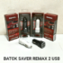 Charger Mobil 2 Usb Remax Saver Car Charger