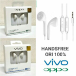 Earphone Headset Oppo Vivo Original 100% Handsfree