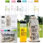 Botol Minum Warna My Bottle Bonus Pouch