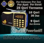 Speaker Murottal Al Quran 25 Qori Powerbank MS4024