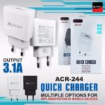 Kepala Charger Army 3,1A Original Batok Tc 3.1A 1 Usb