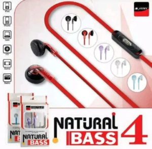 Headset Army Natural Bass 4