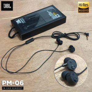 Headset JBL PM06 Earphone Superbass Handsfree